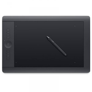 Wacom graphics tablet as used by the engineering department in Swansea University