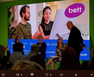 Womedn Ed panel at Bett 2018
