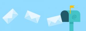 Image representing letters going into a mailbox