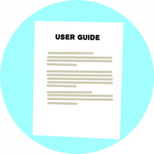 Image of a user guide